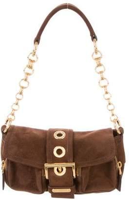 Prada Suede Handle Bag