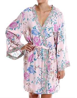 Homebodii Short Boho Robe