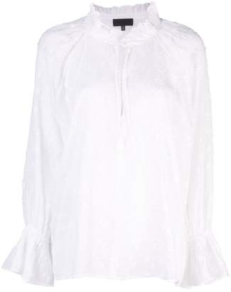Nili Lotan peasant blouse