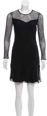 Rag & Bone Lace Long Sleeve Mini Dress