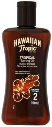 Hawaiian Tropic Tanning Oil SPF2