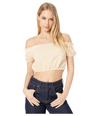 BCBGeneration Off Shoulder Puff Sleeve Top - TBB1206189