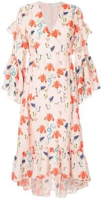DAY Birger et Mikkelsen Borgo De Nor iris printed summer dress