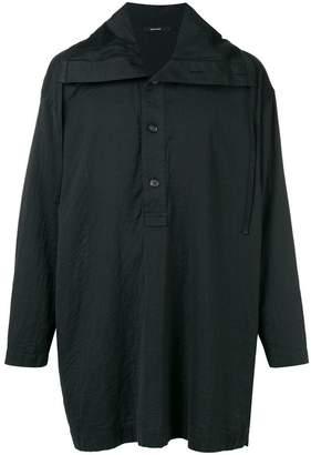 Issey Miyake oversized pull-over shirt