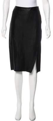 Gucci Knee-Length Satin Skirt