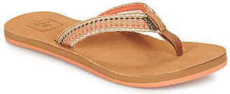 Reef GYPSYLOVE women's Flip flops / Sandals (Shoes) in Brown
