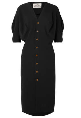 Vivienne Westwood Wilma Crepe Dress - Black