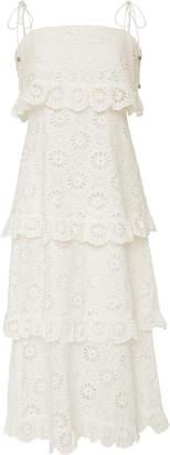 Zimmermann Lumino Daisy Crocheted Lace Dress