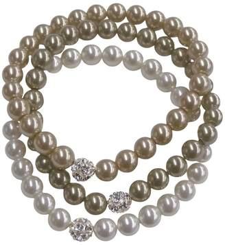 Cezanne 3-Row Fireball Pearl Bracelet Set