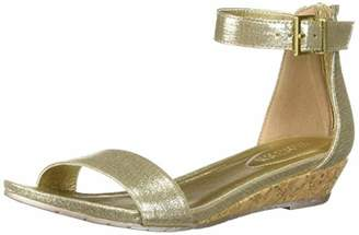 Kenneth Cole Reaction Women's Viber Low Wedge Ankle Strap Sandal