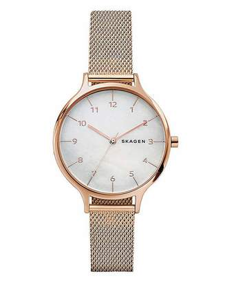 Fantasie Skagen Ladies Anita Mesh Bracelet Watch