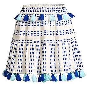 Tessora Tessora Women's Morena Tassel Skirt