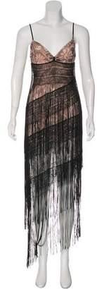 Missoni Floral Fringe-Trimmed Dress