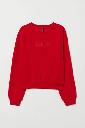 H&M Short Sweatshirt - Red
