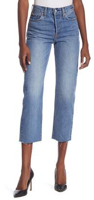 Levi's Wedgie Straight Crop Jeans