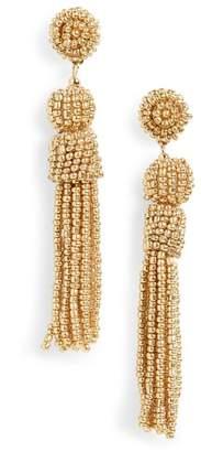BaubleBar Mini Mariachi Beaded Tassel Earrings