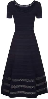 Sandro Knitted Midi Dress