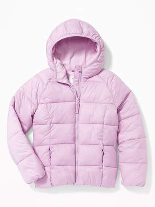 Old Navy Wind-Resistant Hooded Frost-Free Jacket for Girls