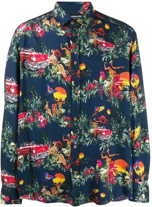 Mauna Kea Hawaiian-print shirt
