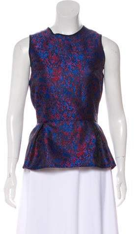 Timo Weiland Silk Sleeveless Top