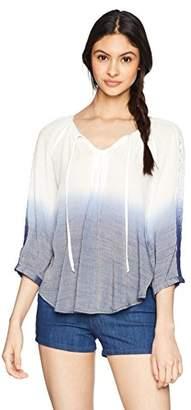 Amy Byer A. Byer Raglan Sleeve Princess Top (Junior's)