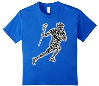 Goalie glove stick ball t-shirt