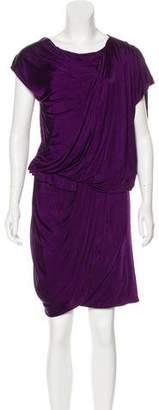 Matthew Williamson Draped Mini Dress