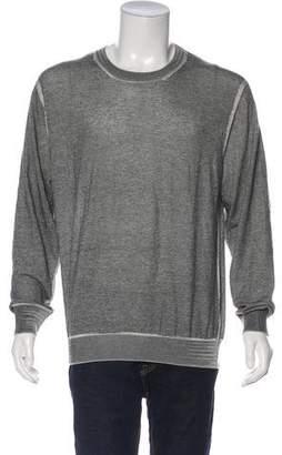 Christian Dior Distressed Virgin Wool Sweater w/ Tags