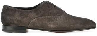 Santoni lace up oxford shoes