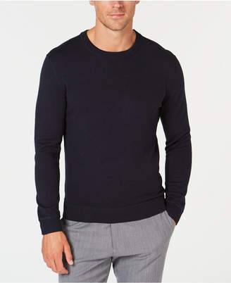 Tasso Elba Men's Lux Crew-Neck Sweater, Created for Macy's