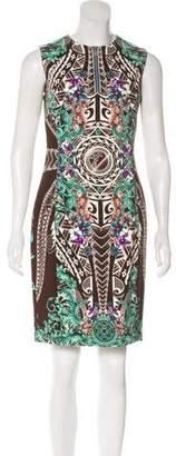 Versace Medusa Digital Print Dress