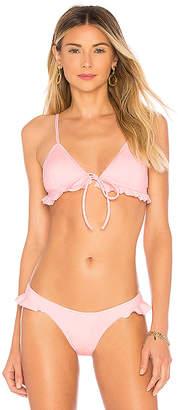 KENDALL + KYLIE Frill Bikini Top
