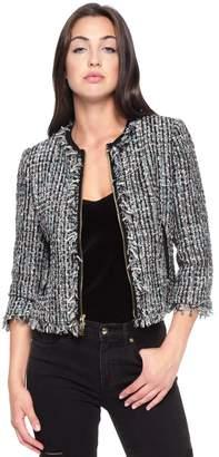 Juicy Couture Multi-Texture Tweed Jacket