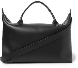 The Row Leather Holdall - Black
