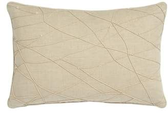 Harlequin Lotus Accent Pillow
