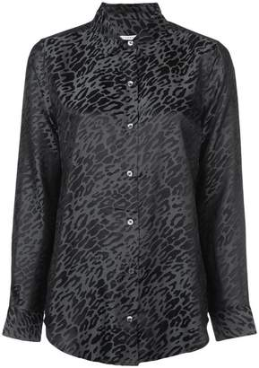 Equipment Essential leopard print shirt