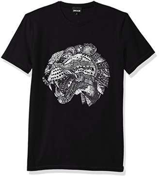 Just Cavalli Men's Contrast Tee