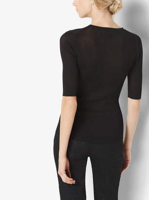 Michael Kors Metallic Pullover