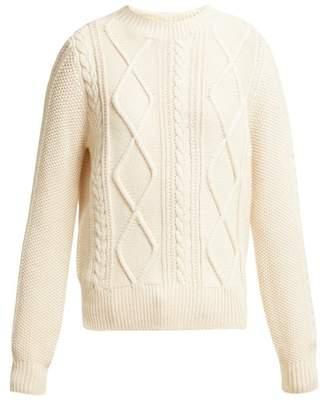 Max Mara Girl Sweater - Womens - White