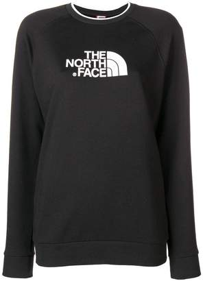 The North Face logo fitted sweatshirt