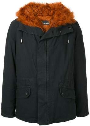 Yves Salomon fur lined zip-up parka