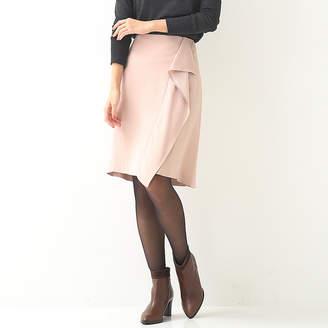 Designworks (デザインワークス) - デザインワークス バックサテンドレープ飾りスカート