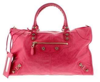 Balenciaga City leather handbag