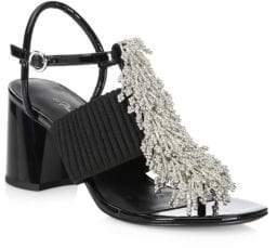 3.1 Phillip Lim Beaded Ankle Strap Sandals