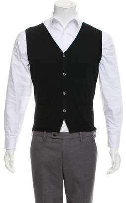 Paul Smith Merino Wool Knit Vest