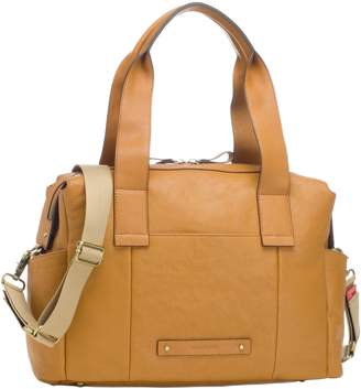 Storksak Kym Calfskin Leather Diaper Tote Bag
