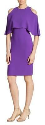 Ralph Lauren Ashley Cold-Shoulder Dress
