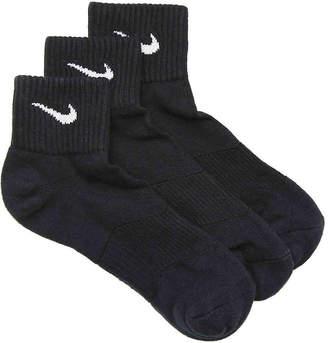 Nike Performance Cotton Ankle Socks - 3 Pack - Men's