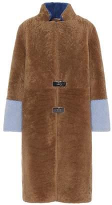Saks Potts Feebe Waves shearling coat