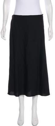 Calvin Klein Collection A-Line Midi Skirt